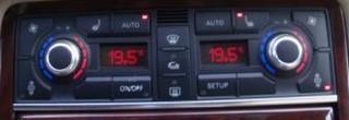 Klimabedienteil Audi A8