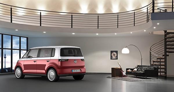 der neue vw bulli der microbus tanze samba mit mir. Black Bedroom Furniture Sets. Home Design Ideas