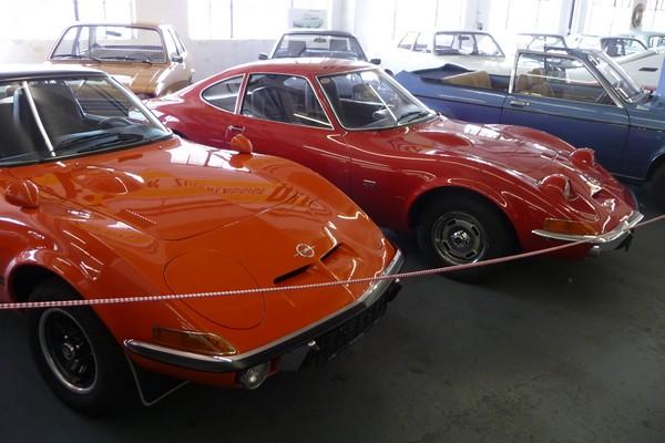 Zwei Urahnen des Opel Astra GTC