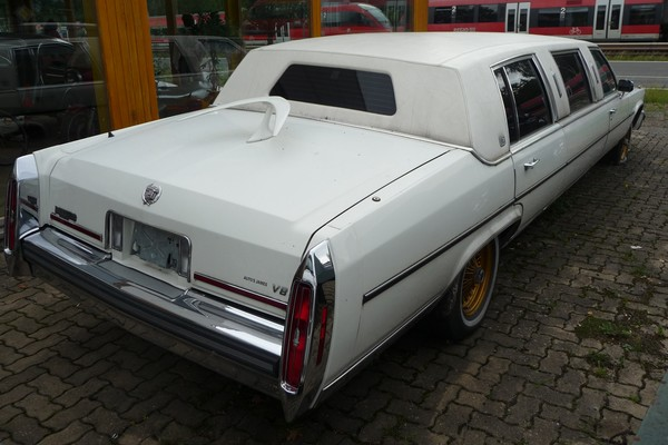 Cadillac Stretchlimousine Heck