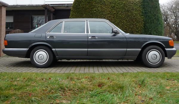 1989 Mercedes-Benz 500 SEL W 126 Seite