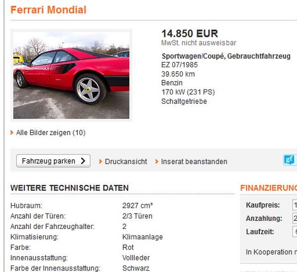 Billiger Ferrari 01