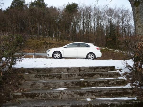 Mitsubishi Lancer Sportback Seitenansicht