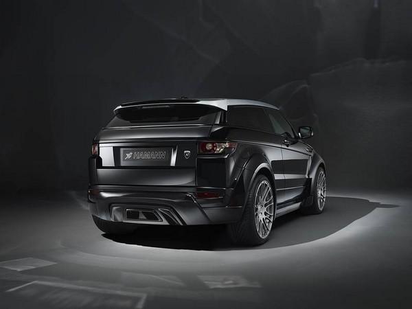 neues design von hamann motorsport f r range rover evoque. Black Bedroom Furniture Sets. Home Design Ideas