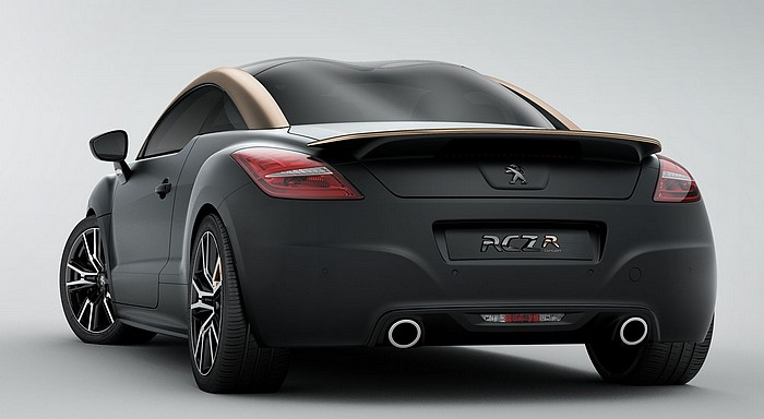 peugeot rcz r 2012 concept automobil salon paris 2012 rad. Black Bedroom Furniture Sets. Home Design Ideas