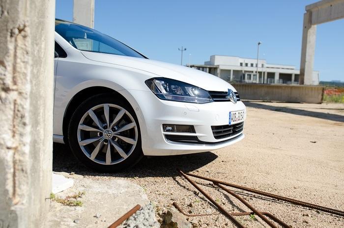VW Golf 7 Probefahrt / Fahrbericht / Blogbericht 06