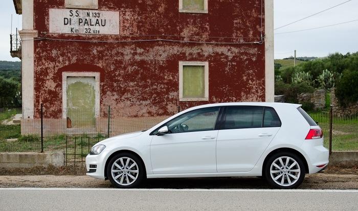 VW Golf 7 Probefahrt / Fahrbericht / Blogbericht 07