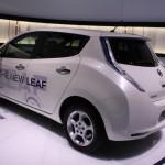 Nissan Leaf 2013: Heck