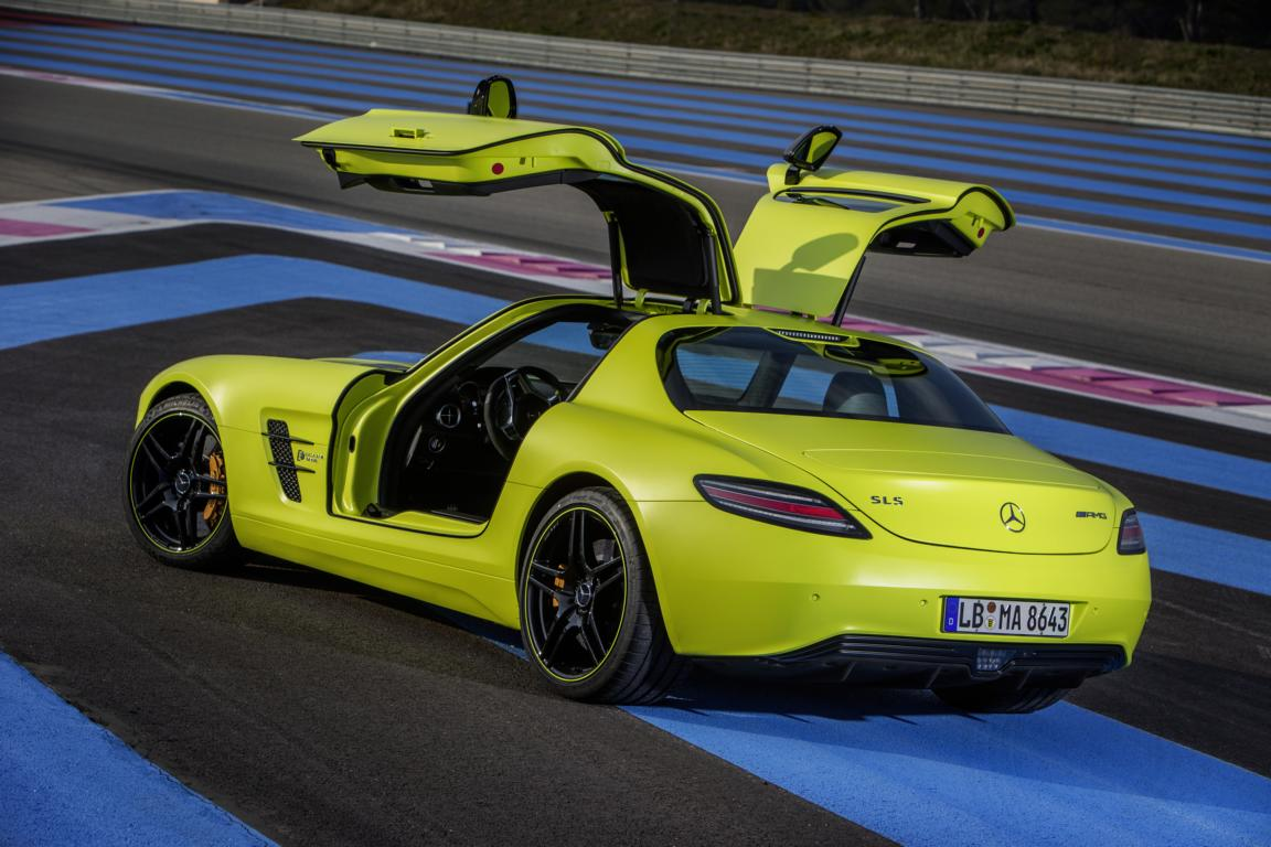 Mercedes Sls Amg Elektro