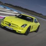 Mercedes Benz, CLA und AMG_SLS_ED_Le_und Black Series SLS AMG in Castellet 2013