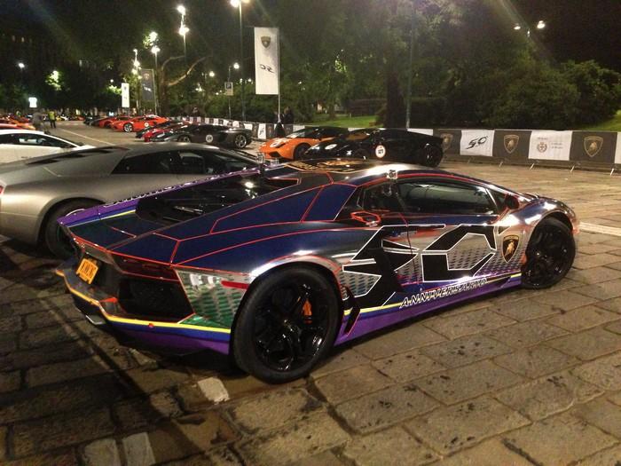 Lamborghini Feiert 50 Geburtstag Mit Einem Riesigen Road Trip Rad Ab Com