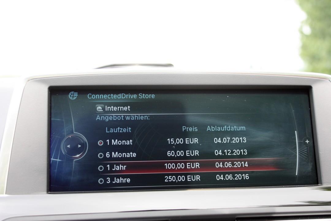bmw-connected-drive-appstore-internet-kaufen-kosten-2013