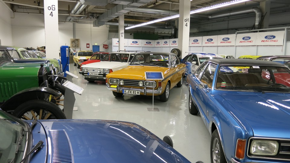 tradition classic garage im werk von ford in k ln niehl