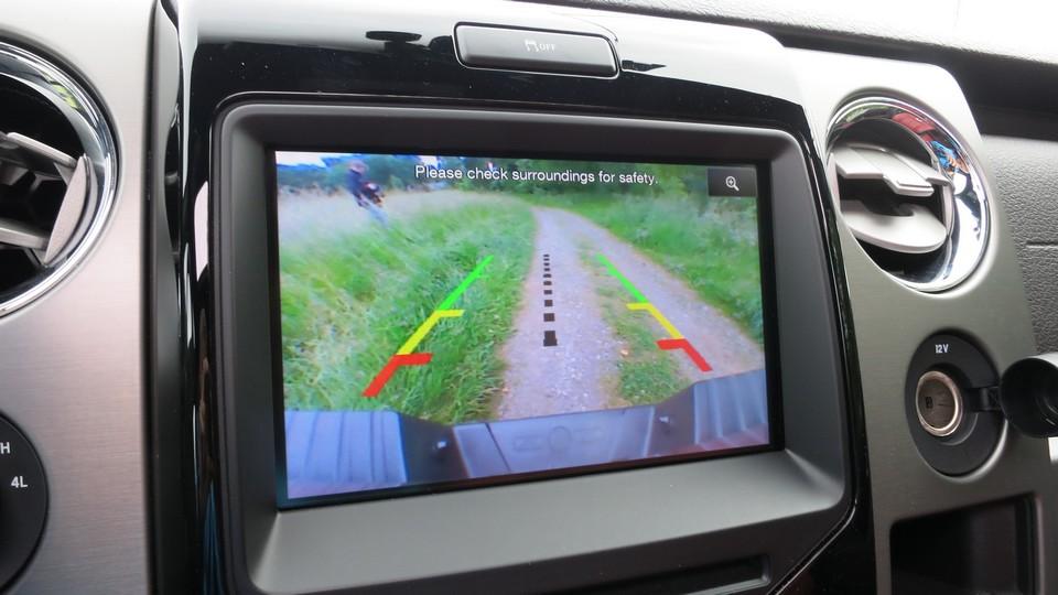 ford-f150-infotainmentsystem-rückfahrkamera