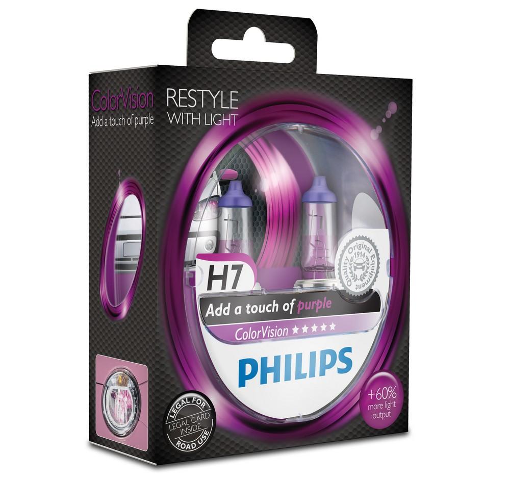 philips-colorvision-h4-h7-scheinwerfer-halogen-gruen-gelb-blau-lila-pink