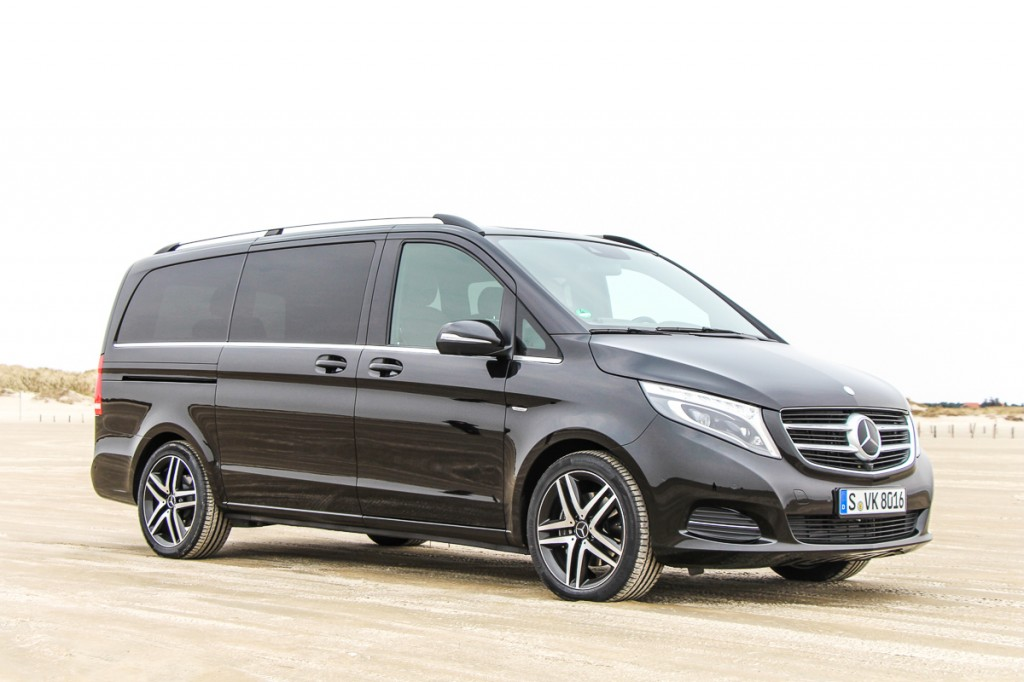 die neue mercedes benz v klasse v250 edition 1 fahrbericht test rad. Black Bedroom Furniture Sets. Home Design Ideas
