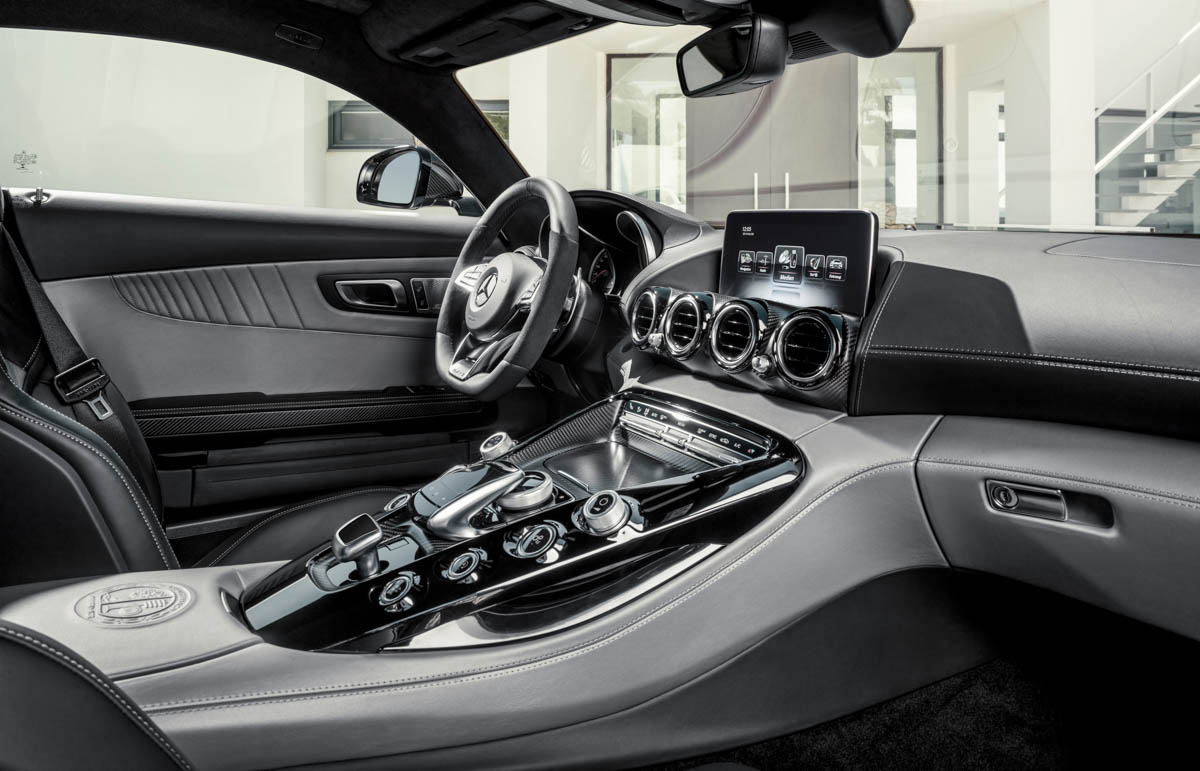 mercedes benz amg gt c190 das interior rad. Black Bedroom Furniture Sets. Home Design Ideas