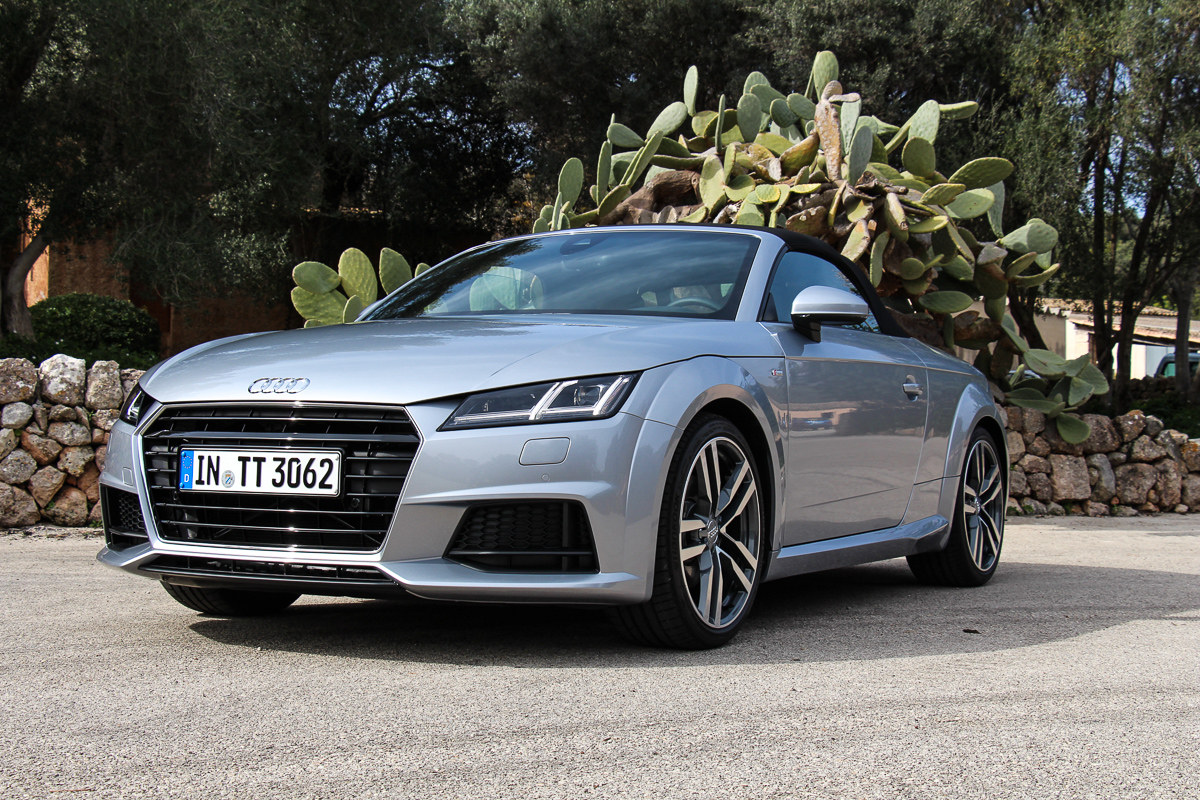 angetestet 2015 audi tt roadster mit 230 ps und frontantrieb. Black Bedroom Furniture Sets. Home Design Ideas