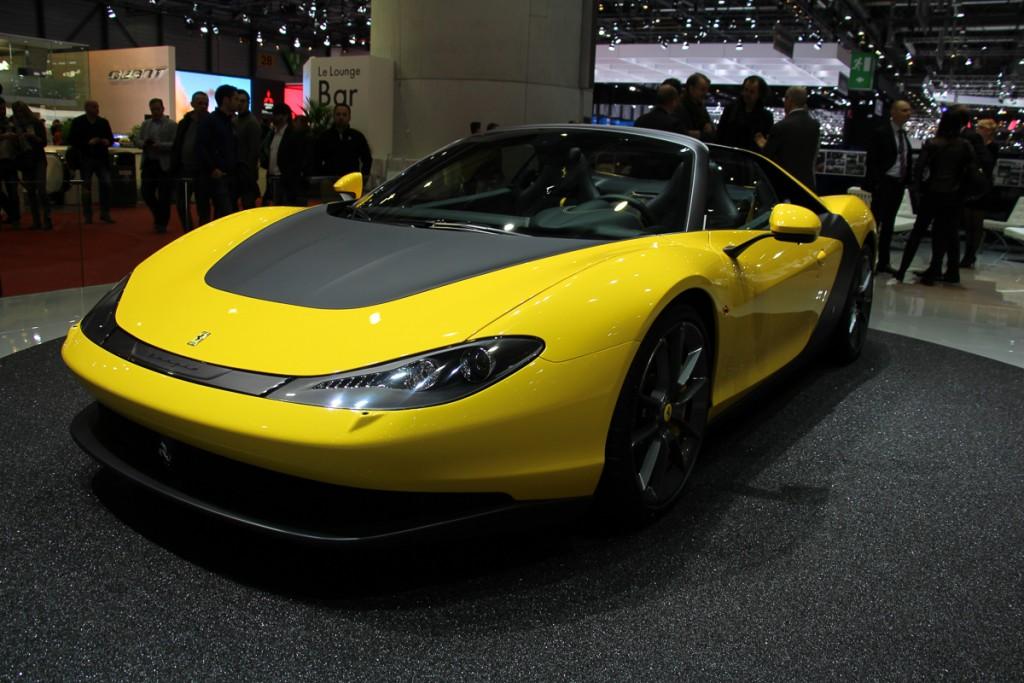 Ferrari Pininfarina Sergio Genf 2015