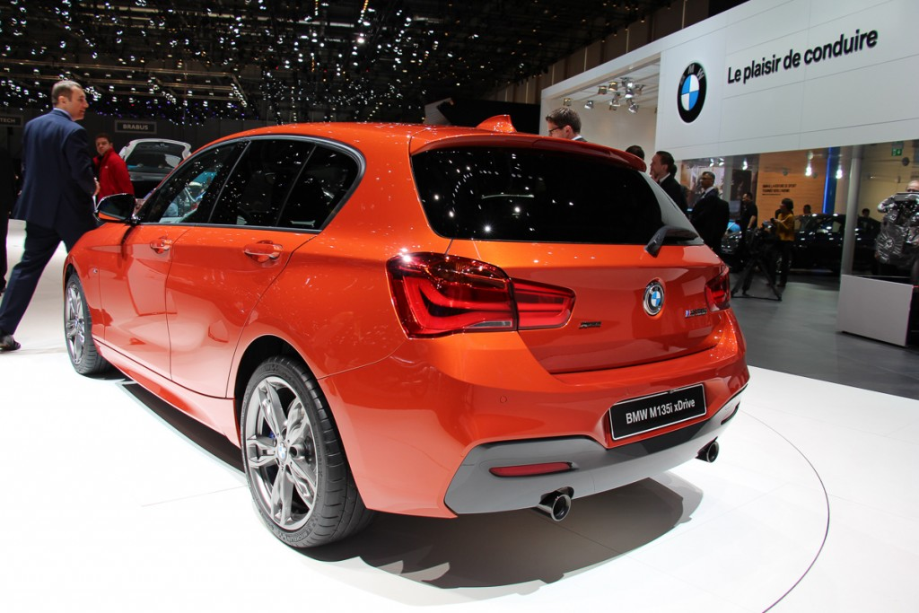BMW M135i xDrive - BMW 1er Facelift