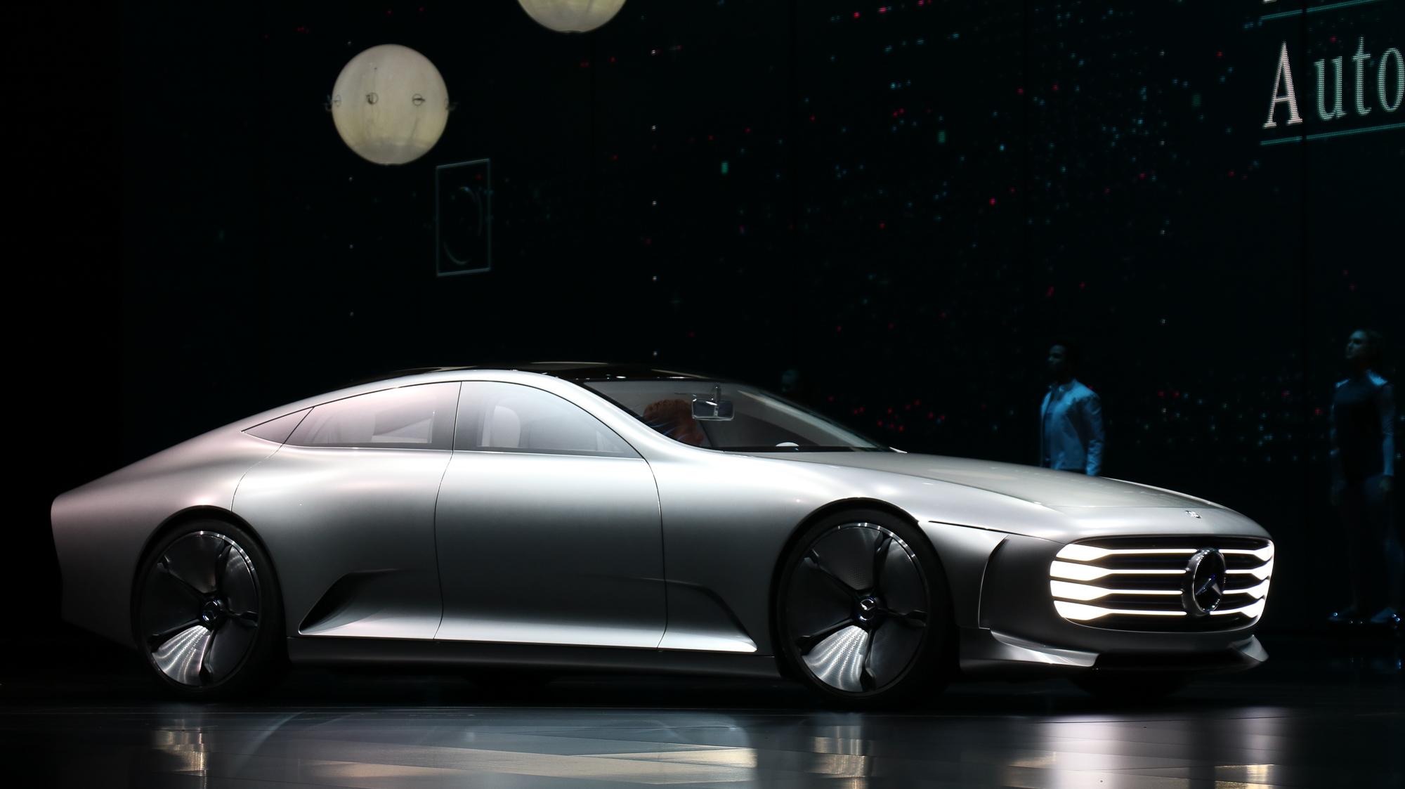Mercedes Benz Concept Iaa 2015 Mein Concept Car Des