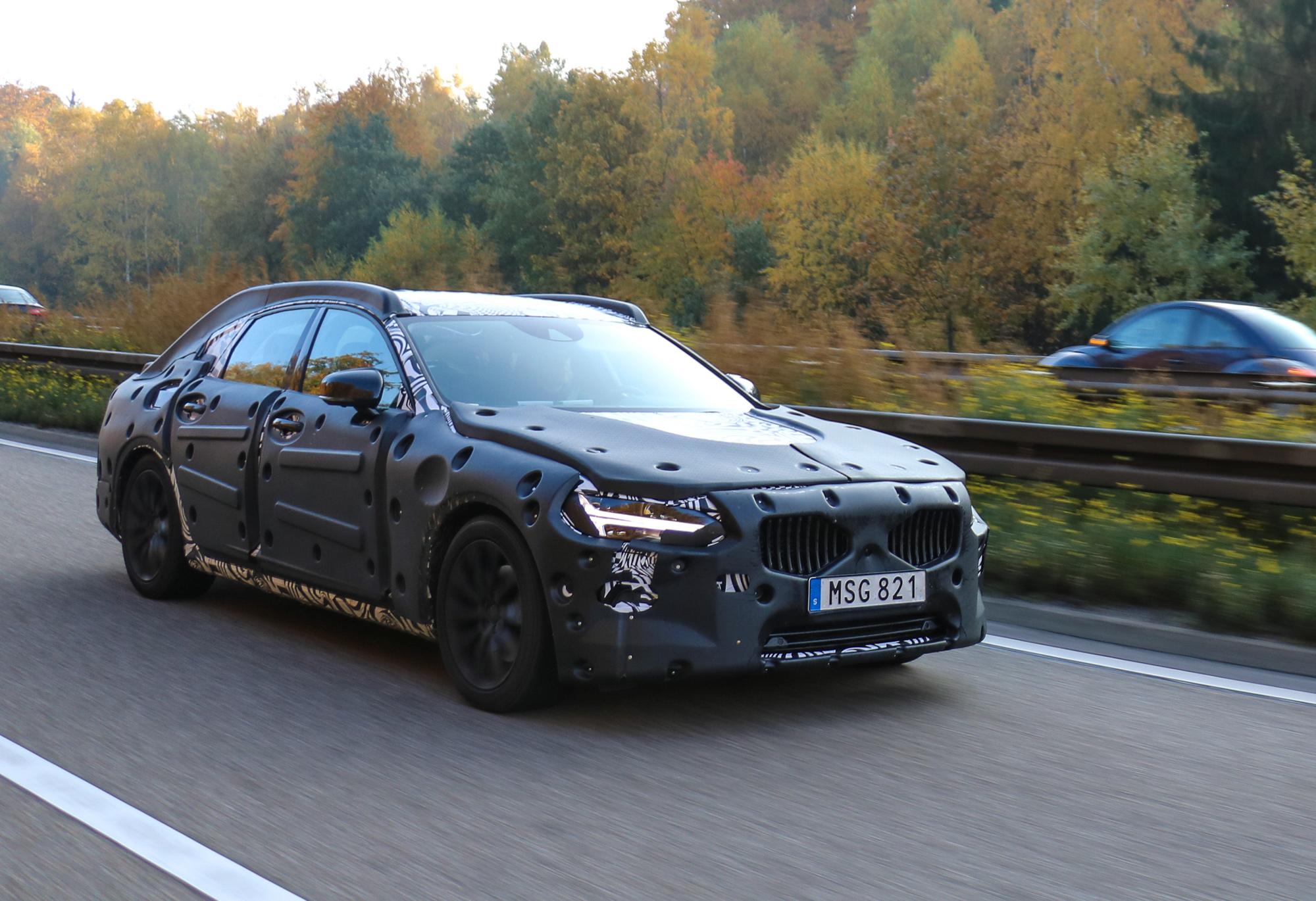 Fotos: Volvo S90 2016 Erlkönig
