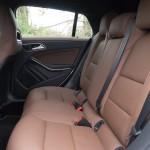 Mercedes-Benz CLA Shooting Brake Sitze hinten