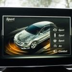 Mercedes-Benz CLA Shooting Brake Sport Fahrmodus