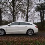 Mercedes-Benz CLA Shooting Brake Seite