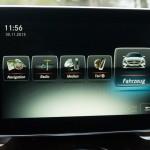 Mercedes-Benz CLA Shooting Brake Display