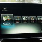 Mercedes-Benz CLA Shooting Brake Navigation