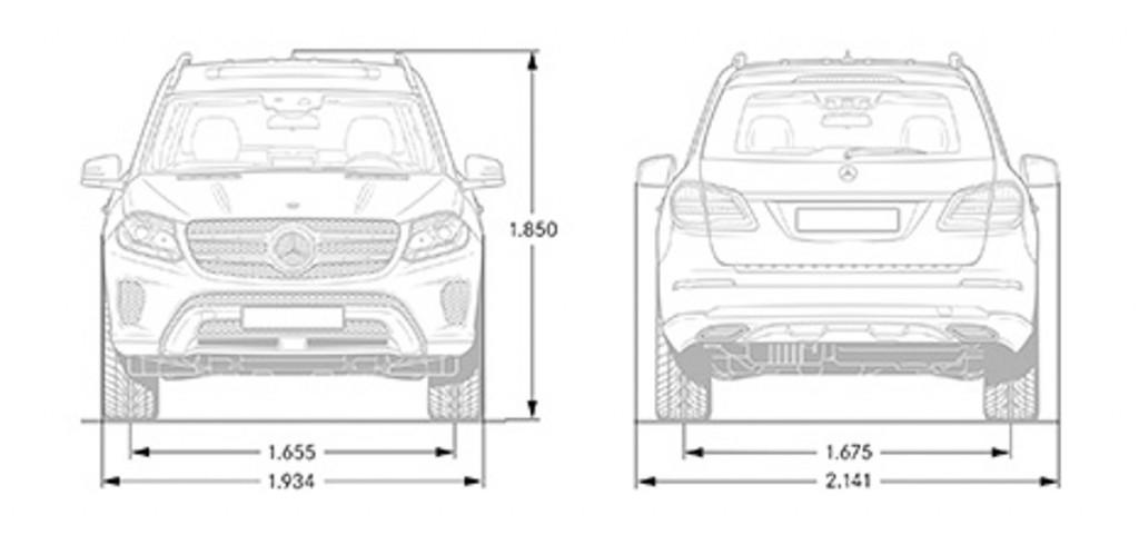 Mercedes-Benz-GLS-technische-zeichnungen-abmessungen