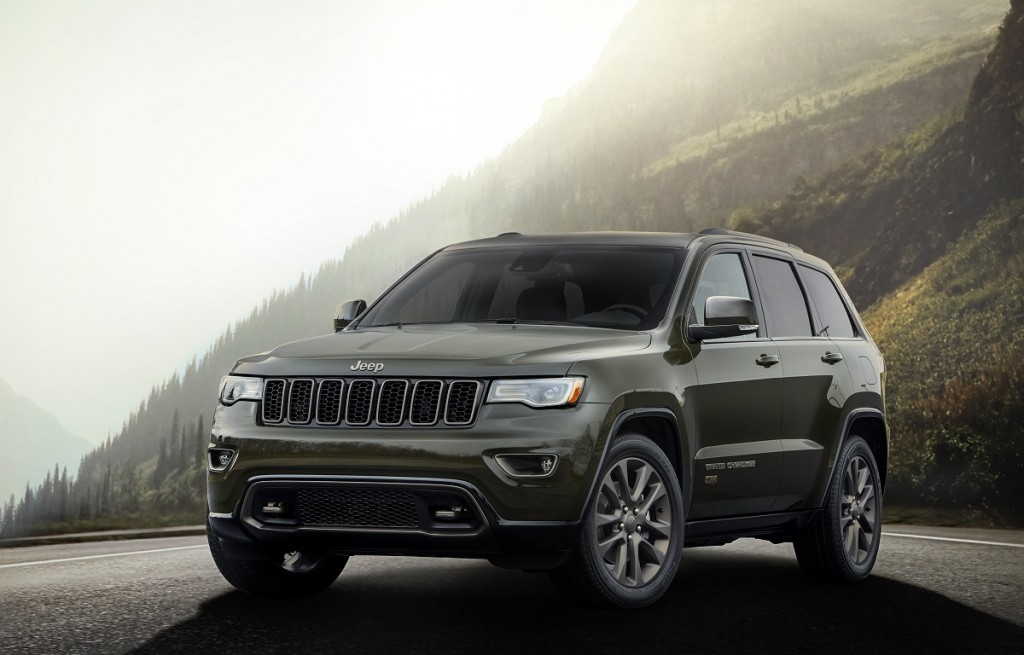 2016 Jeep® Grand Cherokee 75th Anniversary edition
