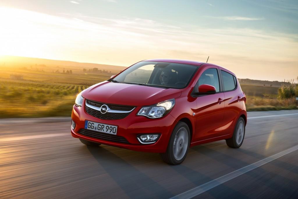 Niedrige Kraftstoffkosten: Der Opel KARL ist ab sofort auch mit LPG-Antrieb erhältlich.