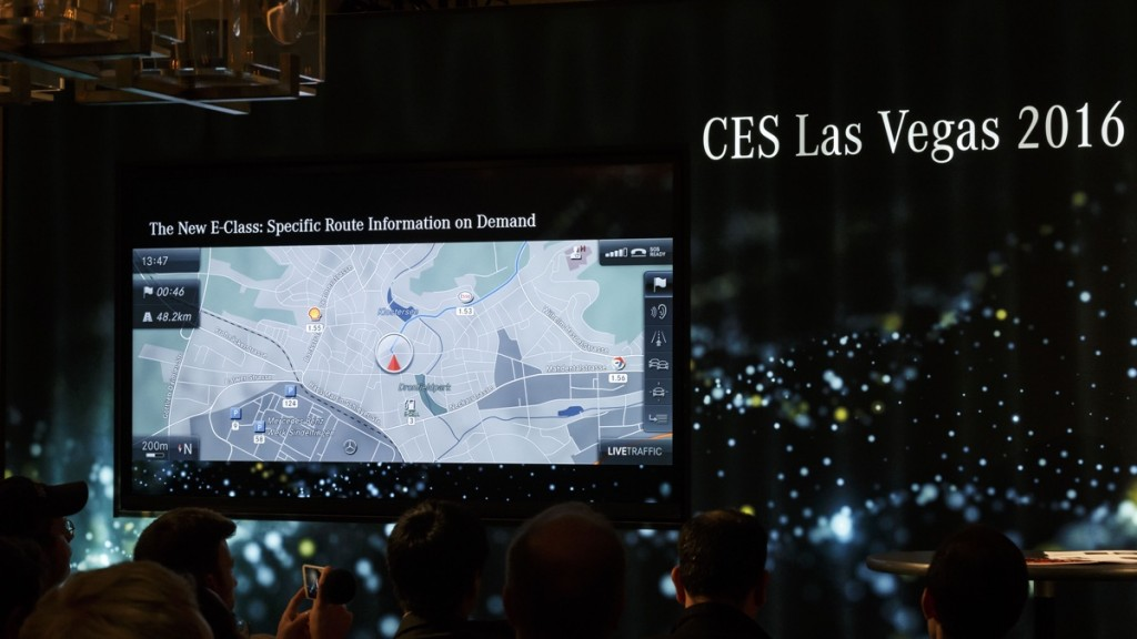 Mercedes-Benz auf der CES, Las Vegas 2016 Mercedes-Benz at the CES, Las Vegas 2016