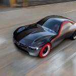 Opel GT Concept - rote Reifen