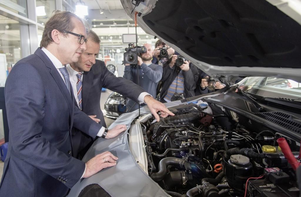 Volkswagen beginnt in Europa mit der Umsetzung der technischen Maßnahmen bei den EA189-Dieselmotoren