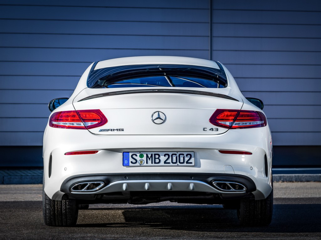 Mercedes-AMG C 43 4MATIC Coupé Heck