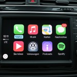 VW Tiguan Apple CarPlay