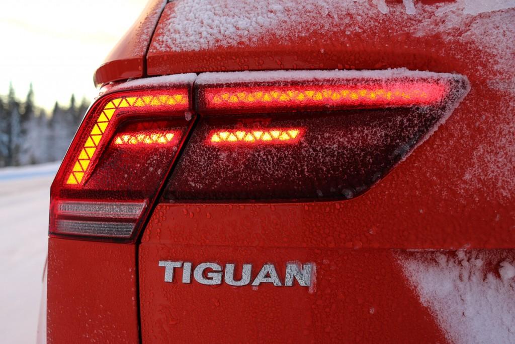 Neuer VW Tiguan LED Rückleuchten