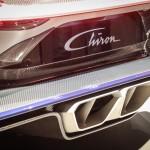 Bugatti Chiron Endrohre