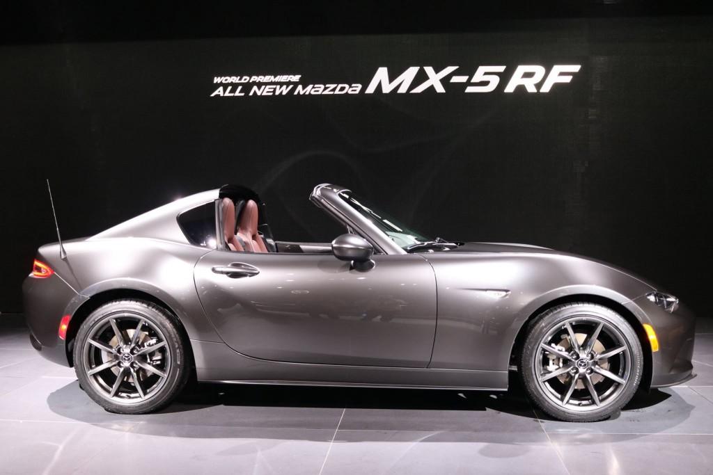 auto news mazda mx5 rf aus dem roadster wird ein targa. Black Bedroom Furniture Sets. Home Design Ideas