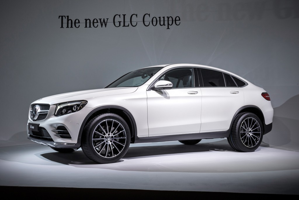 Mercedes-Benz GLC Coupé Video