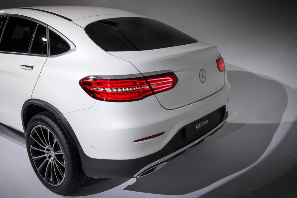 Mercedes-Benz GLC Coupé - Heck