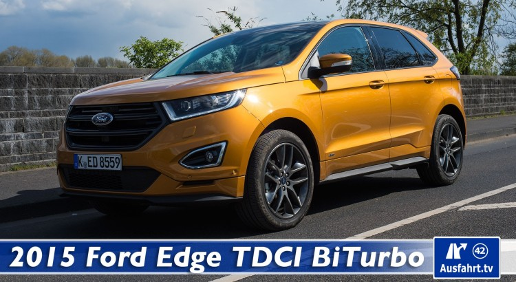 2016 ford edge 2 0 l tdci bi turbo fahrbericht der probefahrt rad. Black Bedroom Furniture Sets. Home Design Ideas