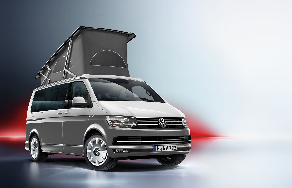 jetzt in bunt der volkswagen t6 california rad. Black Bedroom Furniture Sets. Home Design Ideas