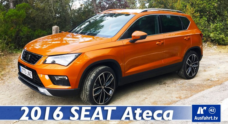 2016 seat ateca 2 0 tdi 190 ps 4drive xcellence ausfahrt. Black Bedroom Furniture Sets. Home Design Ideas