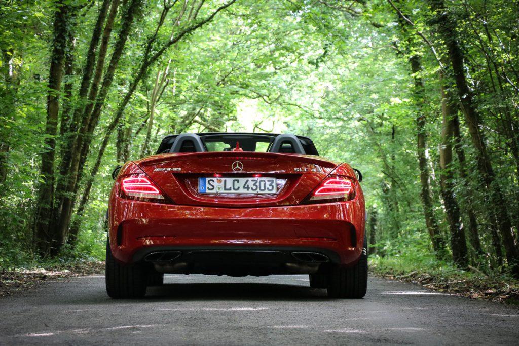 Mercedes-AMG SLC 43 Probefahrt