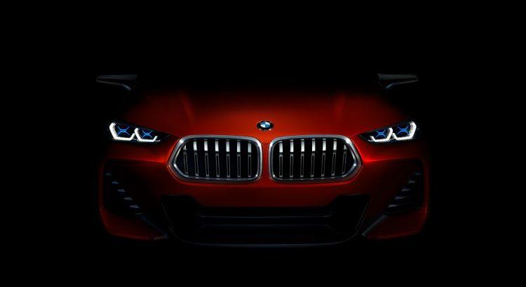 Düsterer Geselle: Im Halbdunkel wirkt der BMW Concept X2 angriffslustig