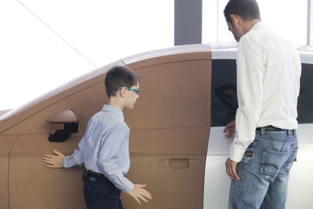 Füd das Ton-Modell eines Leon konnte sich Seat Fan Jasper besonders begeistern